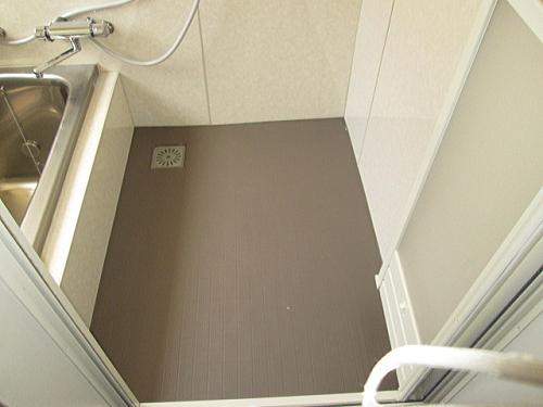 戸建従来浴室床タイルリフォーム長崎市施工後