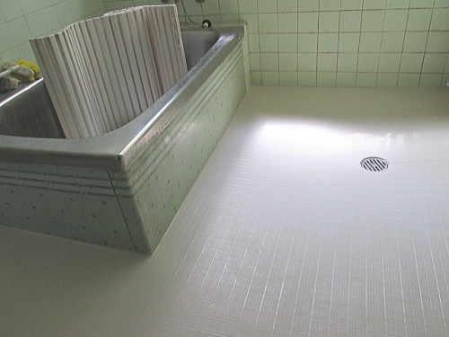 戸建従来浴室床リフォーム福岡県糸島市施工後
