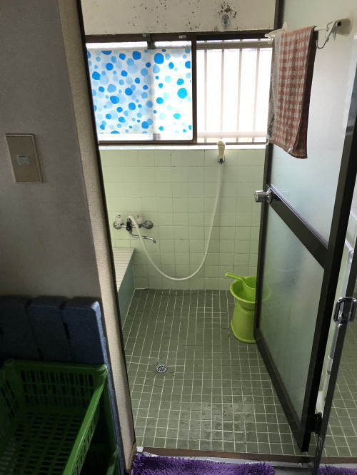 戸建浴室リフォーム佐賀県有田市施工前1