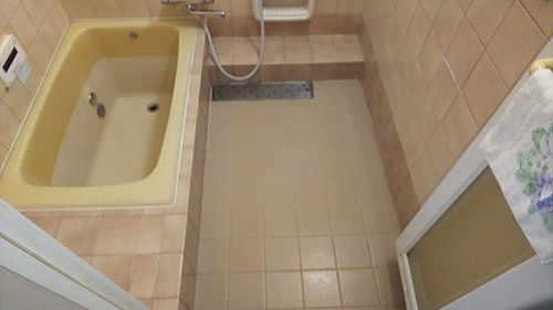 戸建浴室リフォーム福岡県糸島市施工前1