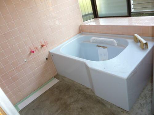 浴室バリアリーフリフォーム福岡県大牟田市