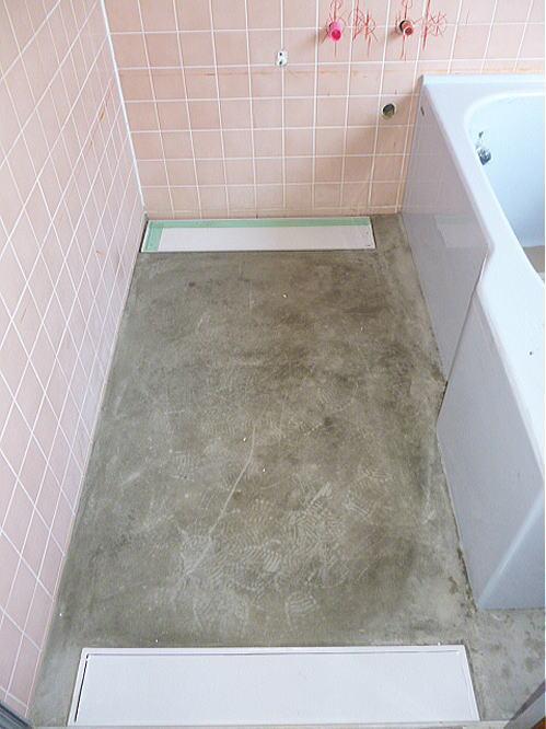 浴室バリアリーフリフォーム福岡県大牟田市施工前2