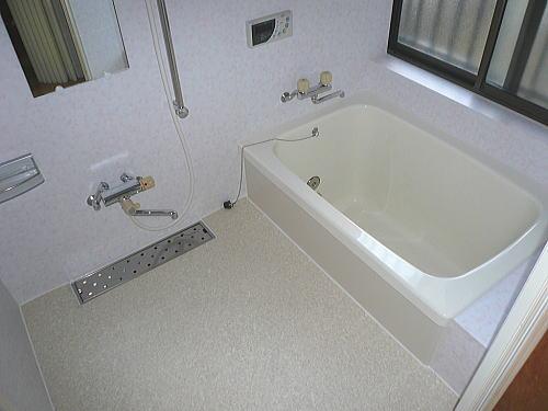浴室リフォーム北九州市小倉南区施工後