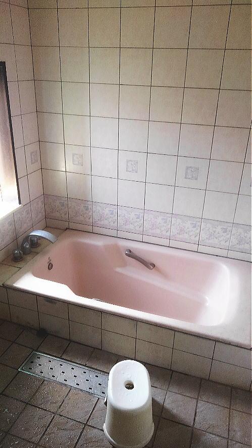 浴室リフォーム戸建て従来浴槽鹿児島市施工前