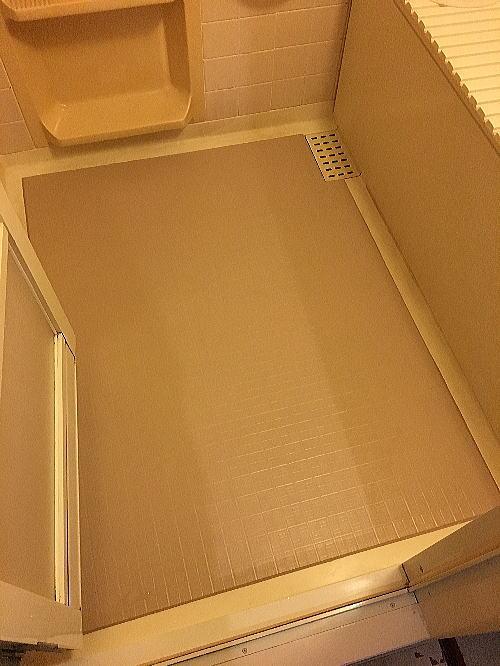 浴室床リフォーム福岡市南区施工後