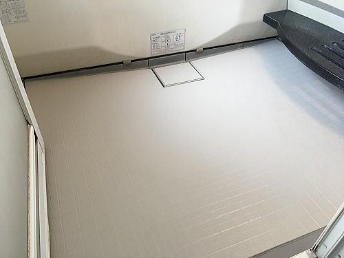 浴室床リフォーム福岡市南区施工後2