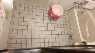 戸建従来浴室床リフォーム福岡県糸島市