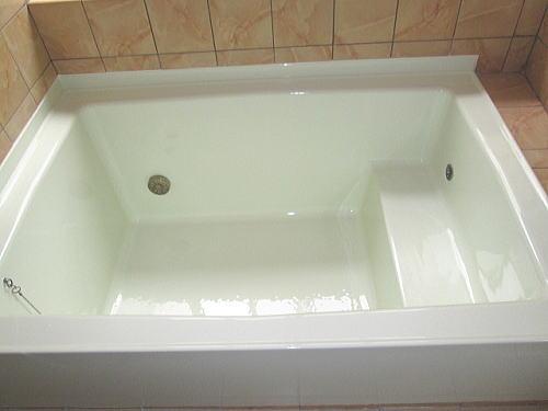 浴槽塗装長崎市施工後