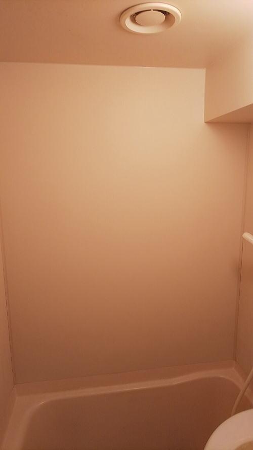 独身寮浴室壁リフォーム伊万里市施工後