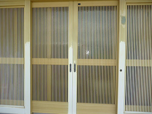 玄関ドアリフォーム熊本県八代市施工前2
