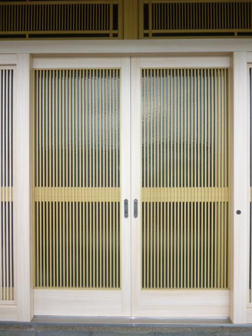 玄関ドアリフォーム熊本県八代市施工後1